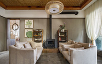 现代混搭风格的客厅