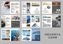 互联网纳税平台宣传画册