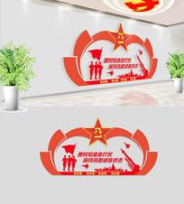 军队部队文化墙