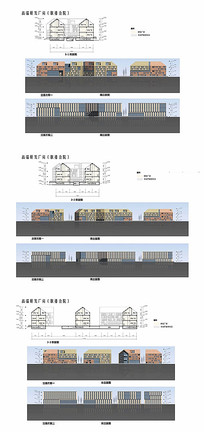 创意园建筑立面图