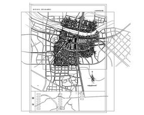 会展中心总平面图CAD