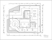 精美党建文展厅CAD
