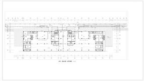 客运大楼二层平面图