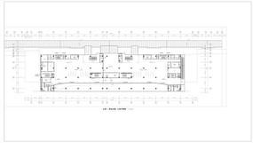 客运大楼三层平面图