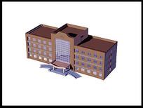 办公楼建筑模型