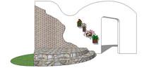 创意现代景墙