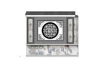 传统中式照壁