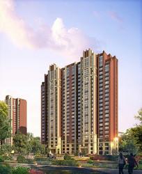 高层住宅建筑景观 JPG