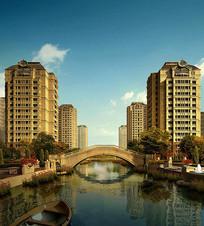 华润住宅小区建筑景观