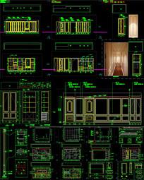 家装深化定制家具CAD