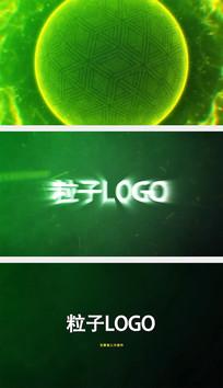 粒子光球爆炸logo特效AE