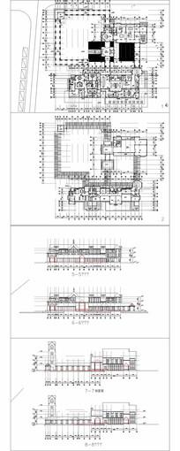 商业会所建筑平立面CAD CAD