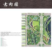 湿地公园彩色平面图 JPG