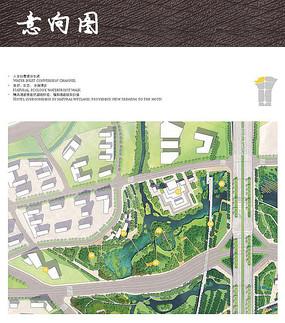 湿地植物园彩平图 JPG