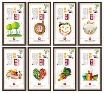 食堂文化海报
