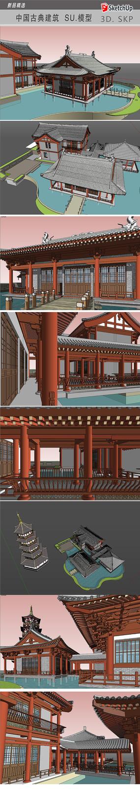 宋建筑模型