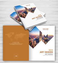 简约企业产品宣传画册封面设计