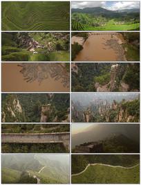 航拍中国秀丽风光