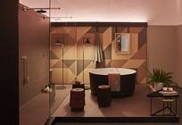 花园酒店室内浴缸意向 JPG