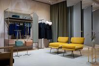 欧式风格服装店意向