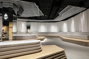创意书店台阶式座位