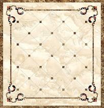 大理石瓷砖水刀拼花CAD美式