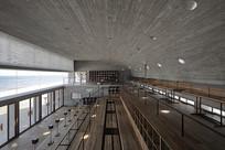 工业风图书馆室内意向 JPG
