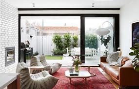 民族风地毯元素客厅