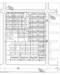 小区建筑平面设计CAD