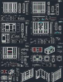 整木衣柜CAD CAD