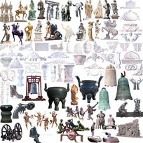 雕塑集合 PSD