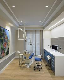 简约风牙科医院房间