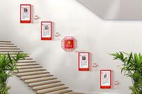 廉政楼梯文化墙