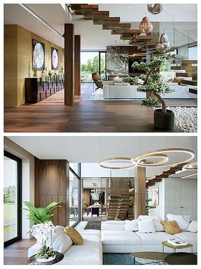 楼梯间空间方案