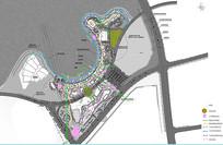 商业广场景观分析图