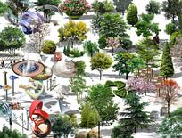 植物集合 PSD