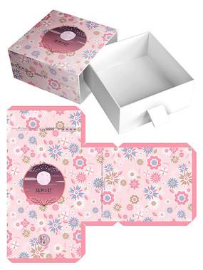 可爱清新月饼礼盒包装设计