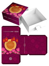 中秋节礼盒包装设计