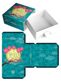 中秋节食品礼盒包装模板