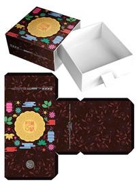 中秋节月饼包装模板设计