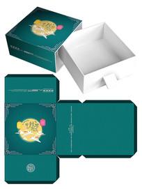 中秋节月饼促销礼盒包装