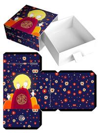 中秋月饼盒模板