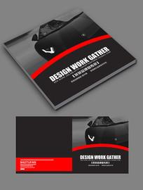 时尚大气跑车宣传手册封面设计