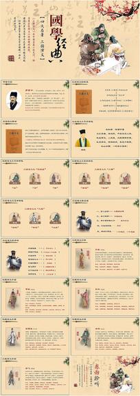 古风国学文化三国演义PPT