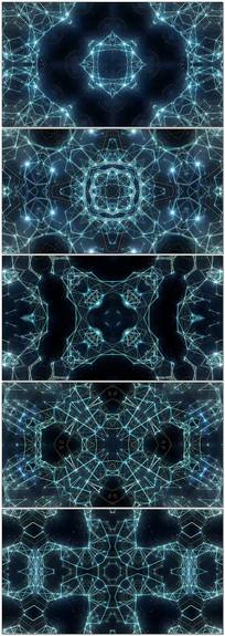 科幻几何mv音乐背景视频素材