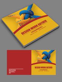 时尚创意企业文化宣传册封面
