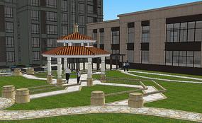 住宅区庭院设计