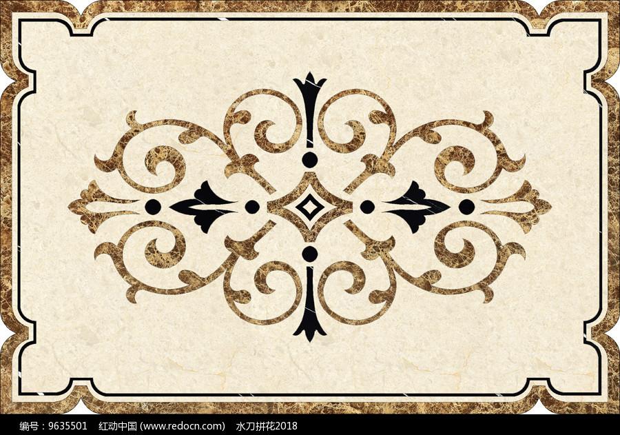 瓷砖水刀拼花效果图 图片欣赏