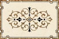 大理石瓷砖水刀拼花CAD欧式