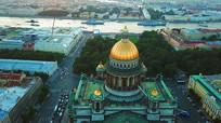 俄罗斯圣彼得堡实拍视频